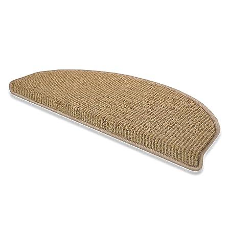 Casa Pura® Berlin Non Slip Stair Carpet Tread Mats | 15 Pieces | 28x65cm |