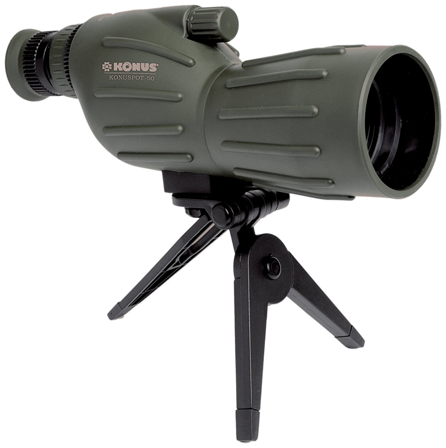 KONUS Konuspot 15X-45X50 Zoom Spotting Scope with Mini Tripod-Clam Package by KONUS