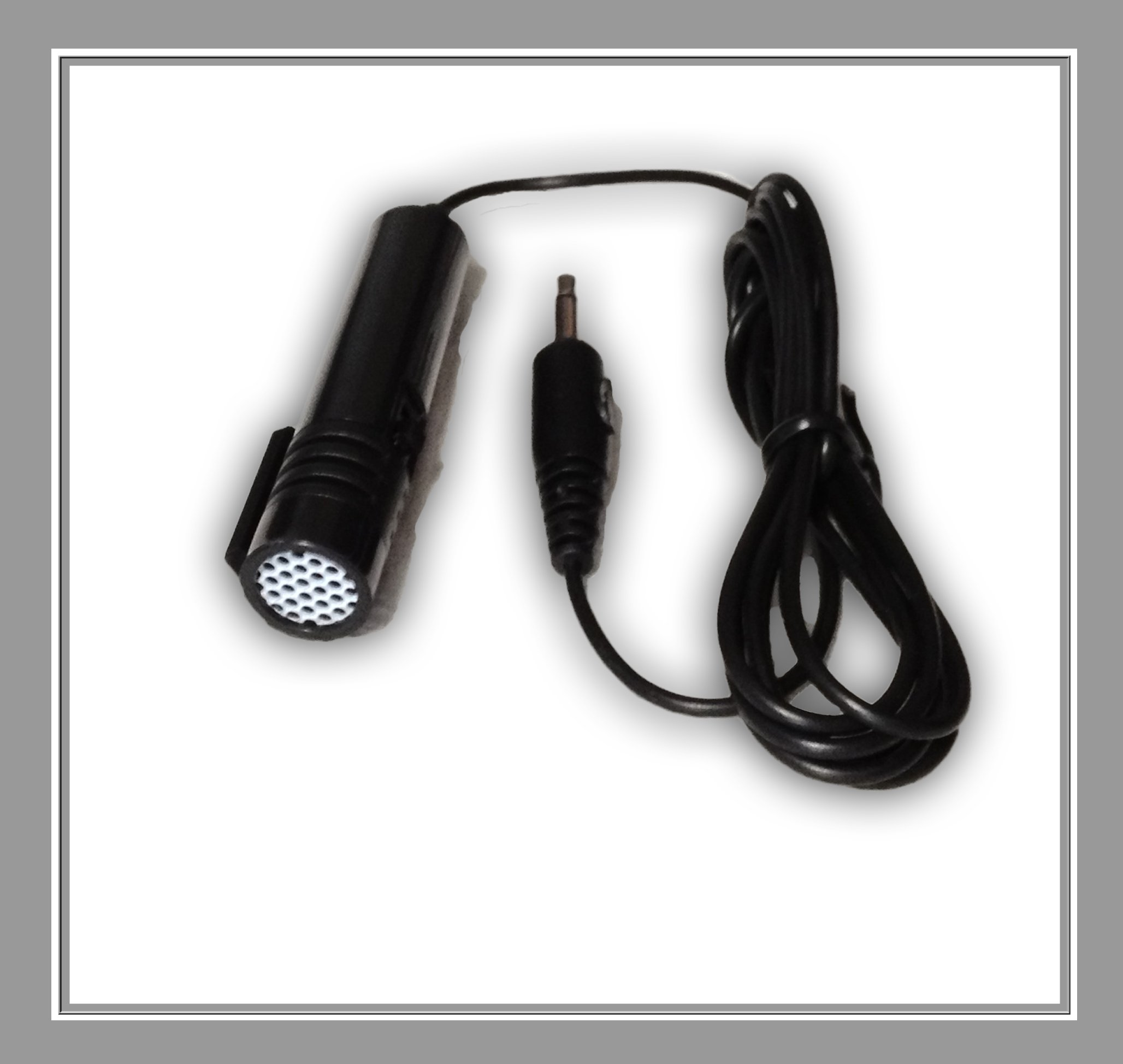 VoiceBooster Dual Tie-Clip Handheld Microphone with On/Off Switch for VoiceBooster (Aker) Voice Amplifiers by TK Products, LLC by Voice Booster