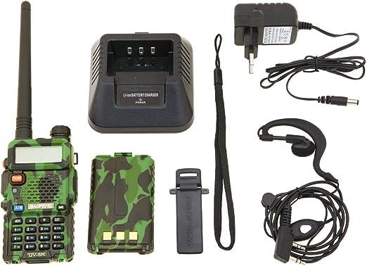 Baofeng UV-5R Radio Dab, diseño de Camuflaje: Amazon.es: Electrónica