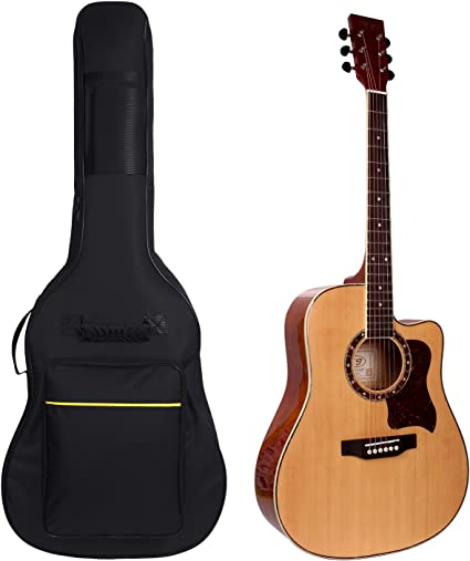 Bolsa de guitarra acústica, 41 pulgadas Guitarra Gig Bag – Funda ...