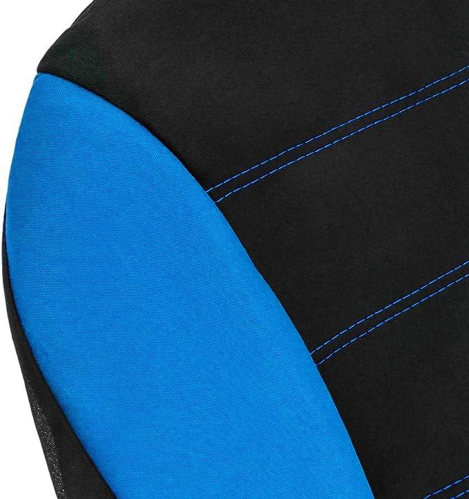 PrimeMatik Coperture protettive per 5 seggiolini Auto Coprisedili per Auto Blu