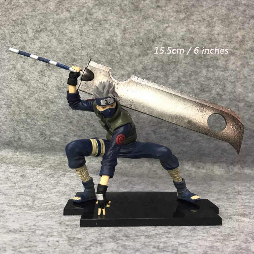 Figura de Naruto AXZXC Figura de Naruto Kakashi, La Ninja ...
