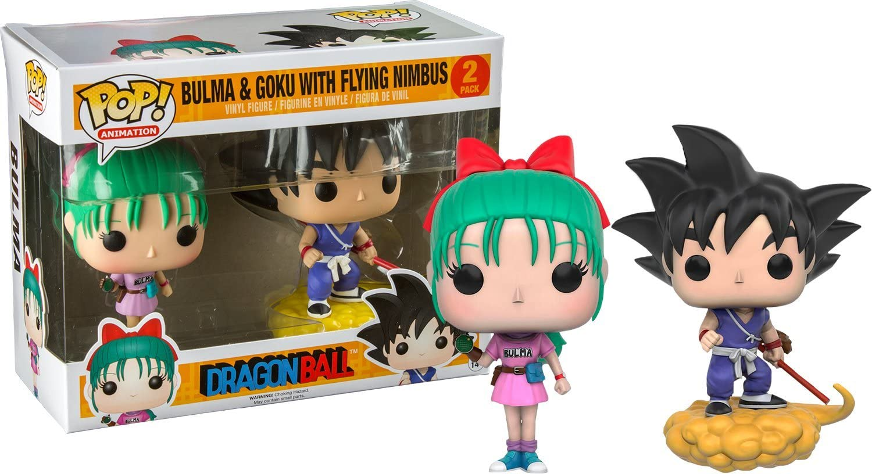 Funko 599386031 - Figuras Bulma and Goku Dragon Ball: Amazon.es ...