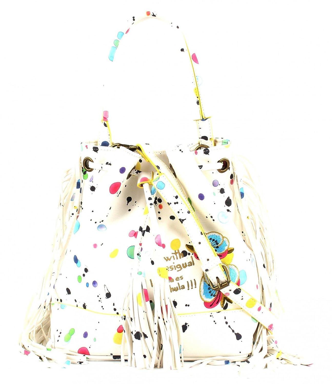Splatter MaroquinerieCouleur Arosa BlancMarqueModèle Sacs Desigual Blanc Maroquinerie 4j3c5RqAL