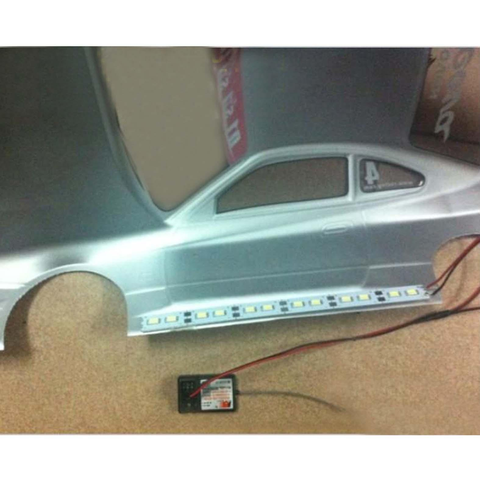 RC Car 1//8 1//10 Chassis Light Lamp LED Strip for RC  Crawler Buggy DIY