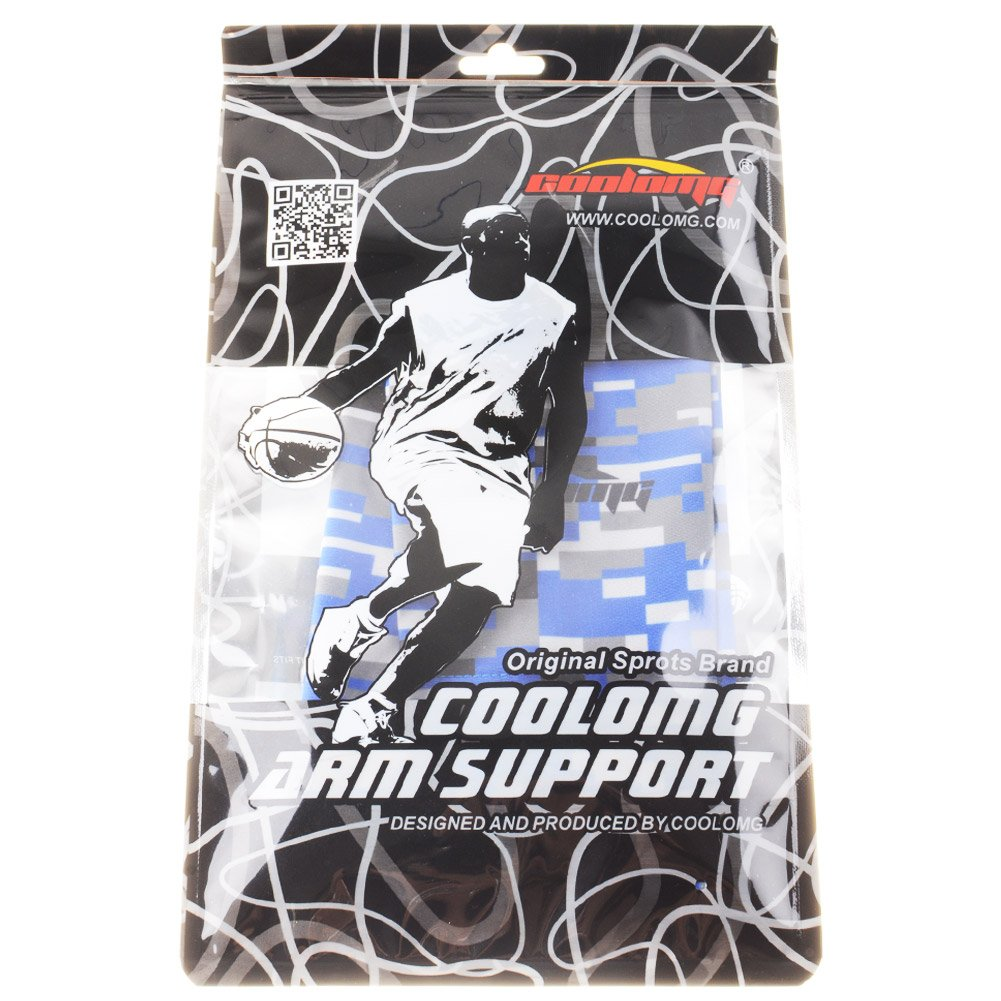 f/ür Damen Herren 1 St/ück COOLOMG Arm Sleeve Armw/ärmer /Ärmling Kompression rutschfest Anti UV Running Radfahren Volleyball Basketball