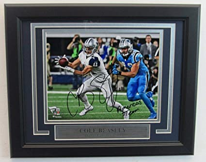 789ceb0e0d3 Image Unavailable. Image not available for. Color: Cole Beasley Cowboys  Autographed ...