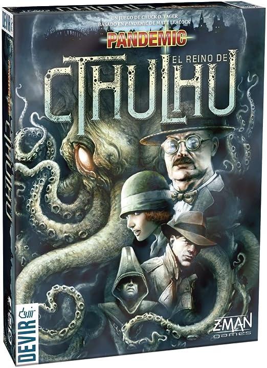 Devir - Pandemic: El Reino de Cthulhu, Juego de Mesa (BGPANCT): Amazon.es: Juguetes y juegos