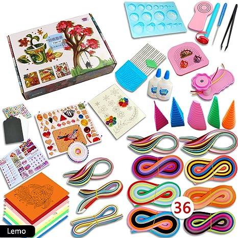Magic Show 1140 Tiras de papel para filigranas Kit de manualidades DIY Kit de herramientas de