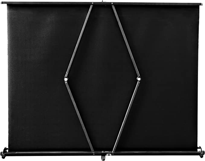 Tragbare 40-Zoll Beamer Leinwand 16 9 Kleine Beamer Leinwand Selbsttragende hochaufl/ösende bodenstehende Beamer Leinwand f/ür den Besprechungsraum der Heimkino-Schule