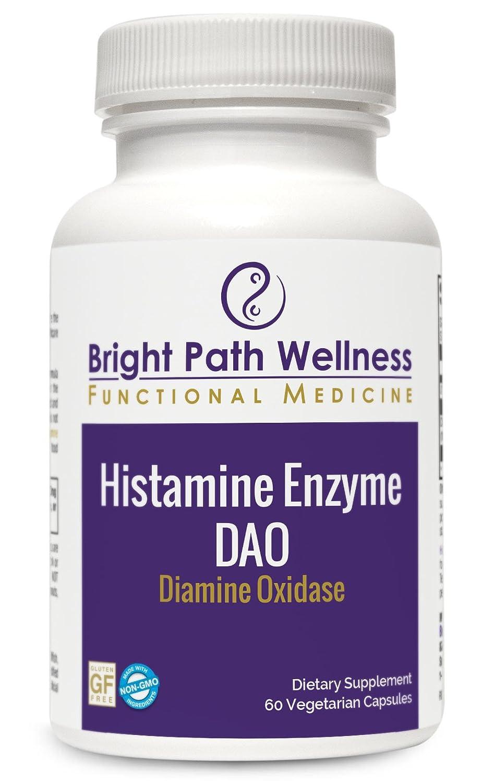 Amazon.com: Histamine enzima – diamine oxidasa – 60 ...