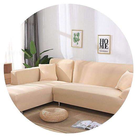 Show-Show-Fashion Sofa Cover Funda de sofá de Color Gris ...