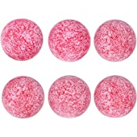Awon-US Frosted Foosballs Table Replacement Foosball-6 Pack-36mm Game Table Size