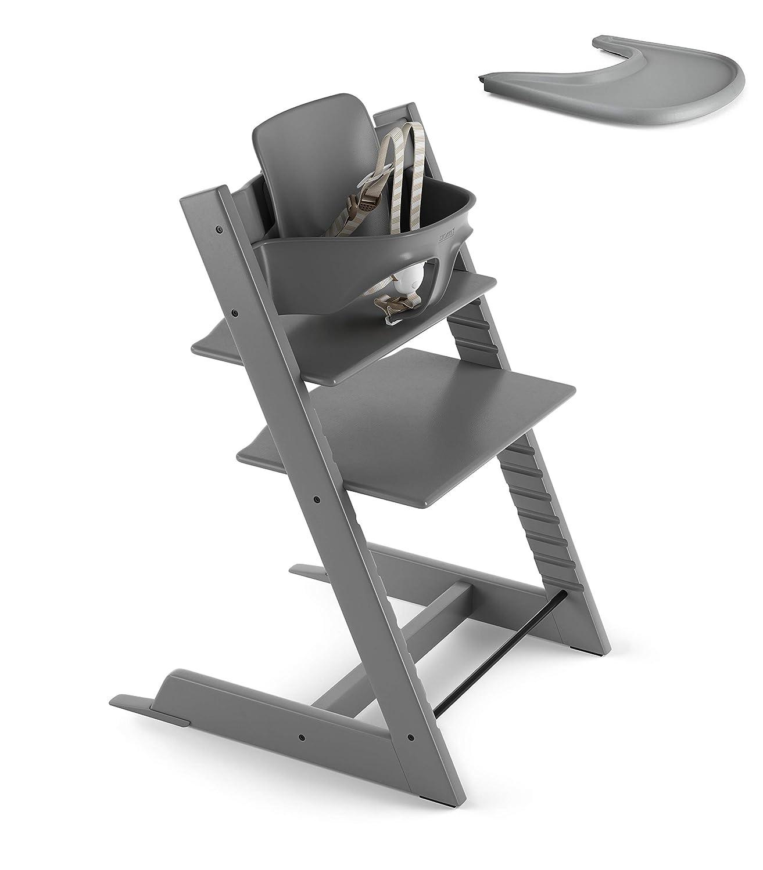 Amazon.com: Stokke 2019 Tripp Trapp - Juego de silla alta y ...