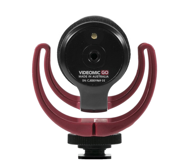 Amazon.com: Rode VMGO Video Mic GO Lightweight On-Camera ...