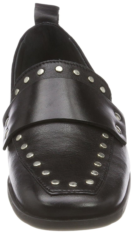 Harleen, Mocassins Femme, Noir (Black), 38 EUShoe Biz