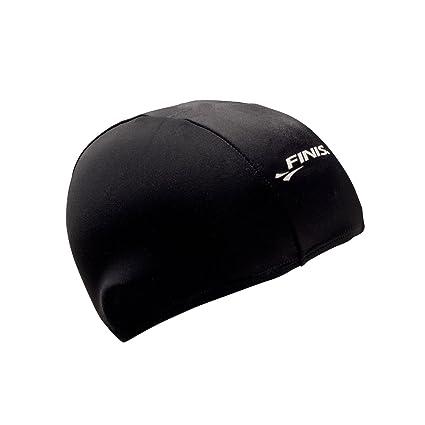 ad032776a94 Amazon.com   Spandex Swim Cap Black   Sports   Outdoors