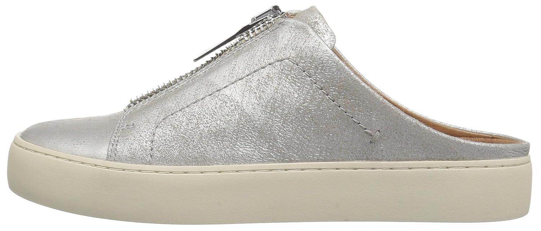 FRYE Women's Lena Zip Mule Sneaker B072MKLS3S 8.5 B(M) US|Metallic Silver
