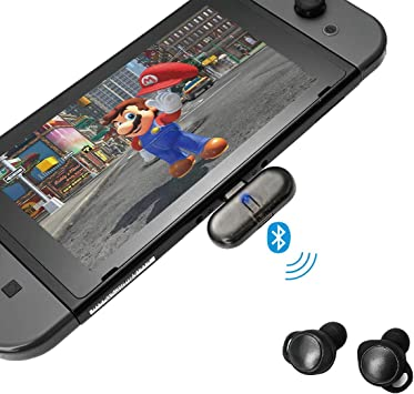 GULIkit Adaptador de Ruta + Pro Bluetooth para el Interruptor de Nintendo Nintendo/Switch Lite/pc/TV, transmisor de Audio inalámbrico Bluetooth para Auriculares Bluetooth Altavoz airpods: Amazon.es: Electrónica