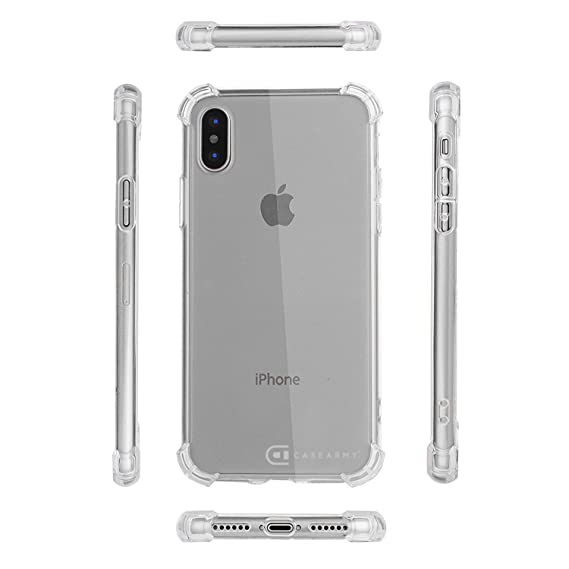 new product 875f8 2e74c Apple iPhone X | 10 Clear Case, CASE ARMY [Puffy] Scratch-Resistant Thick  Case Soft TPU for Apple iPhone X | iPhone 10 Soft Sides with TPU Bumper ...