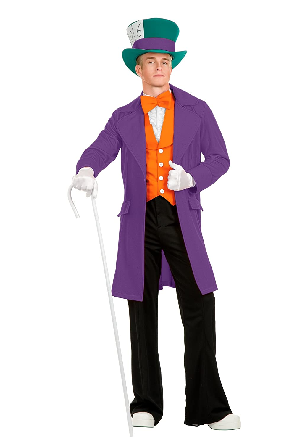 Charades Electric Mad Hatter Adult Costume  XSmall