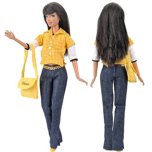 13 opinioni per E-TING Bambola Vestiti per Bambole Barbie (giallo)