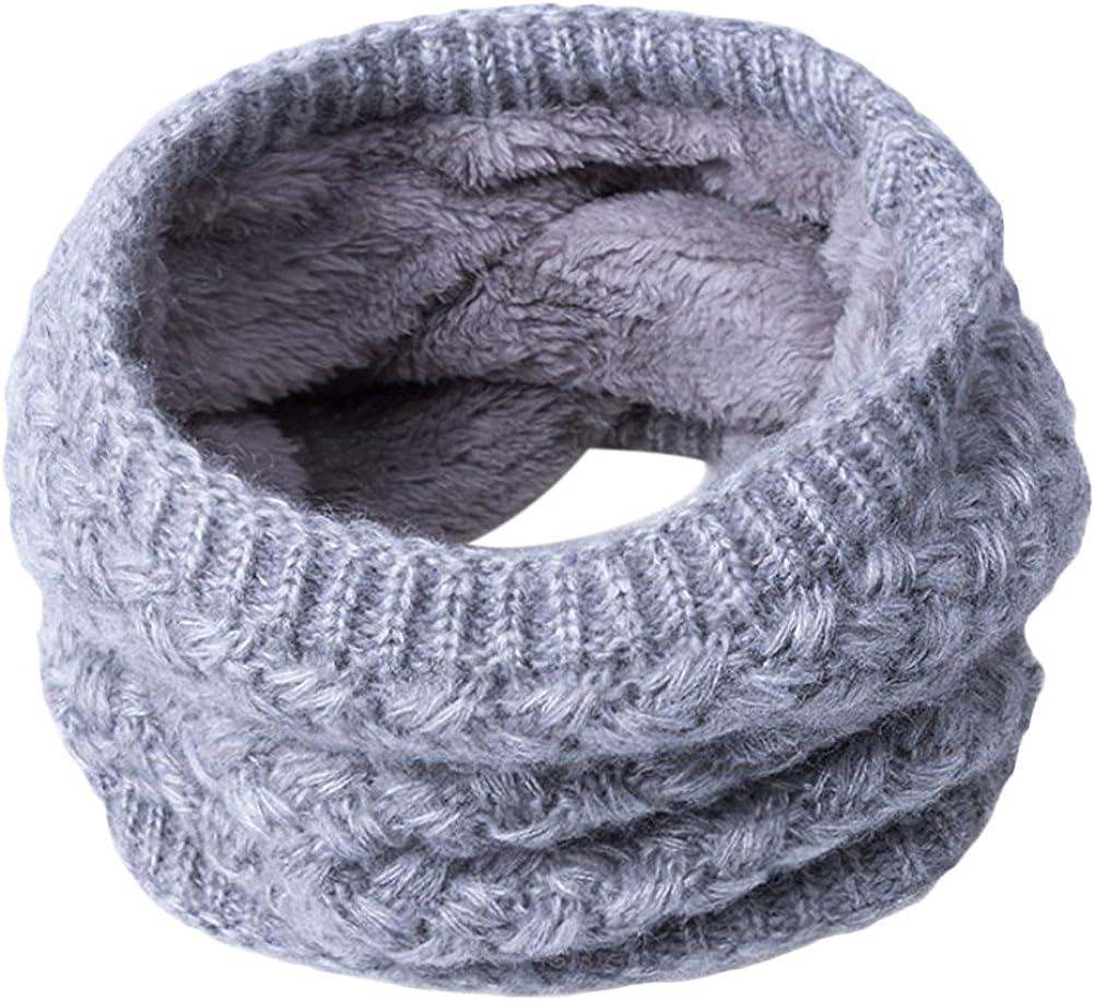 Greenlans Women Man Fashion Soft Thermal Woolen Yarn Collar Winter Circle Neck Scarf
