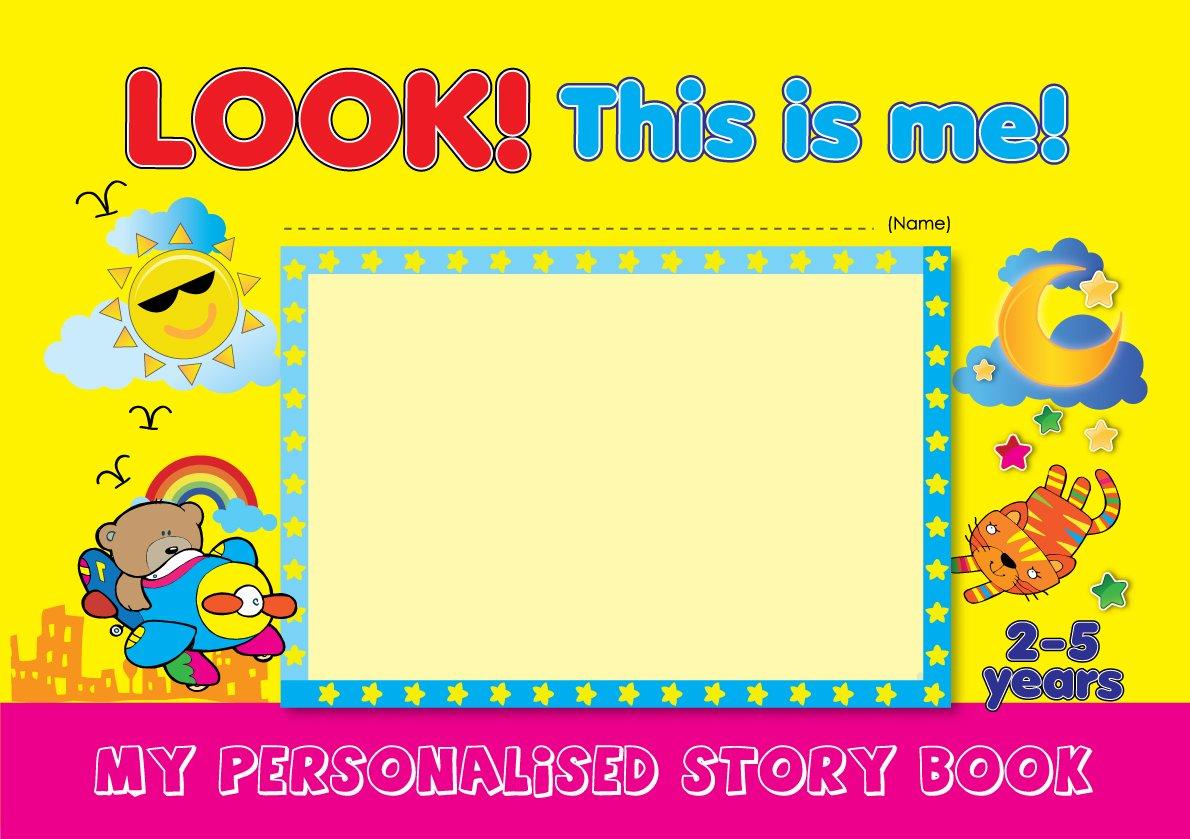 Download Look! This is me! My Personalised Story Book pdf epub
