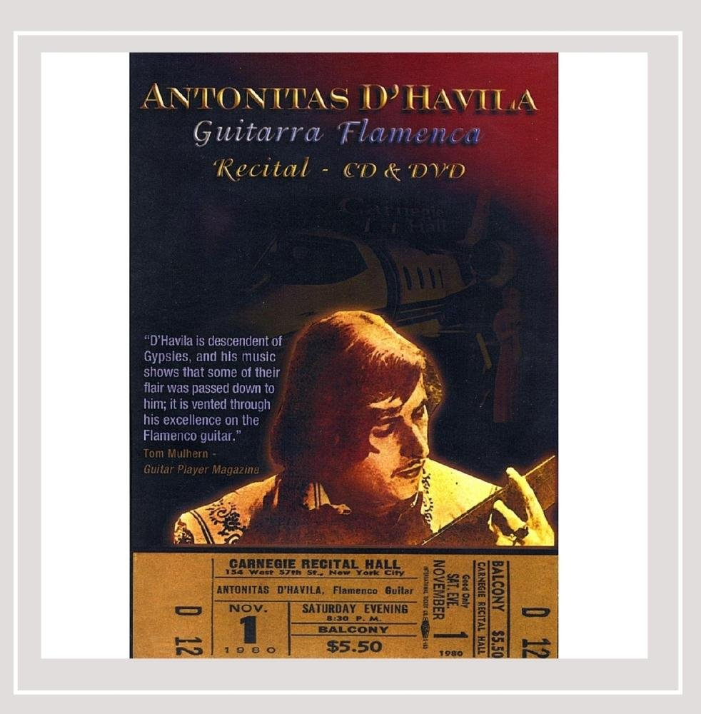 Guitarra Flamenca: Antonitas dHavila: Amazon.es: Música