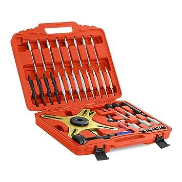 MSW Kit Compresor de Embragues SAC MSW-SAC34 (juego de 38 piezas, fabricado en acero, incluye maletín): Amazon.es: Coche y moto