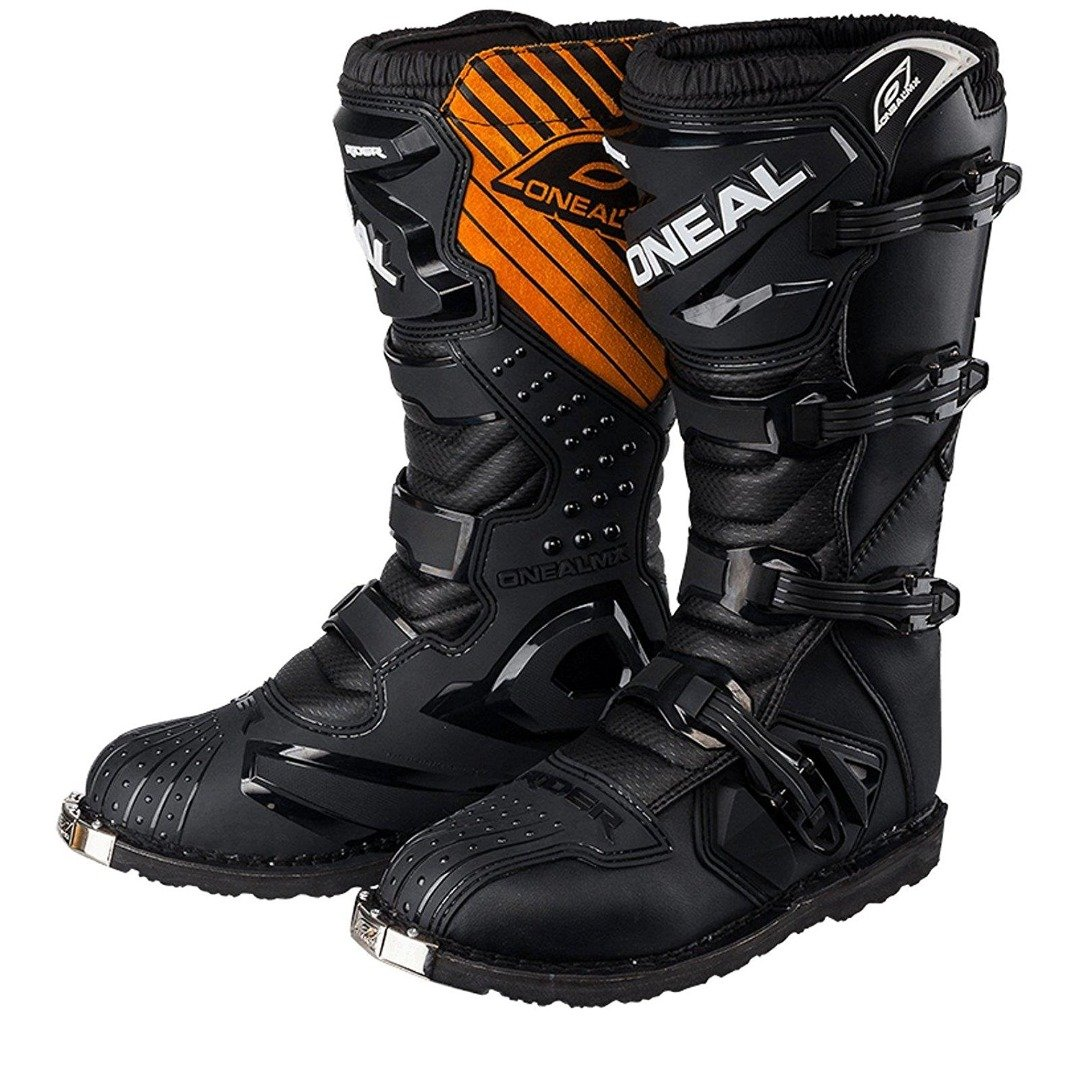 ONEAL RIDER Motorcycle MX Boots Boot Motorbike Quad Enduro Off Road Racing Boots Black White Orange Yellow Blue Red