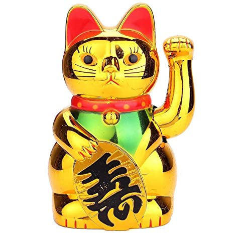 FunnyToday365 Mobile Arms Fortune Chinese Cat Lucky Cat