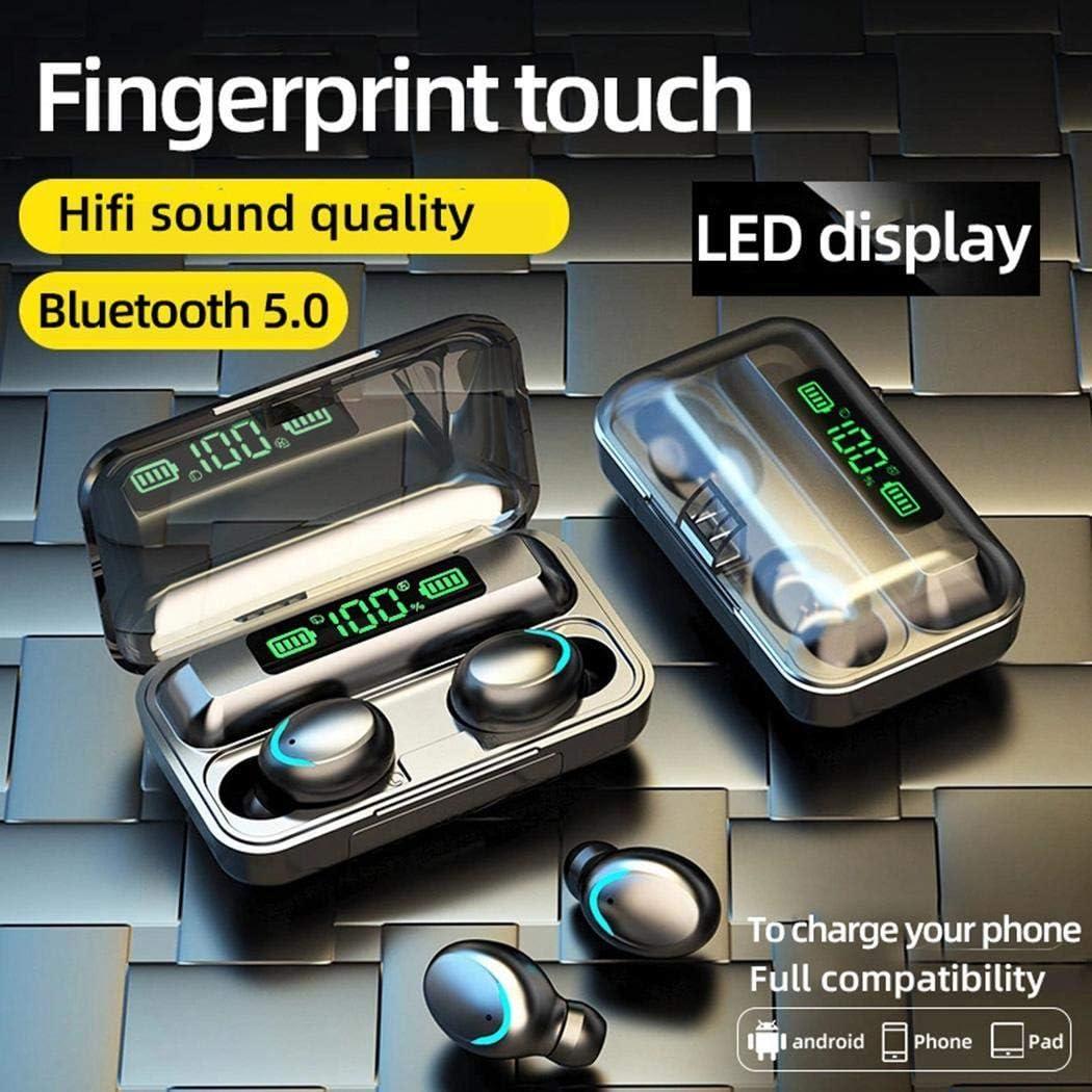 vershine Multi-Function Mini Wireless Bluetooth Earphone with Digital Display Bluetooth Headsets