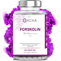 Premium Quality Forskolin for Weight Loss - Natural Carb Blocker, Powerful Belly Fat Burner, Pure Appetite Suppressant, Metabolism Booster Extract, Diet Pills that Work Fast for Women & Men, Luna Trim