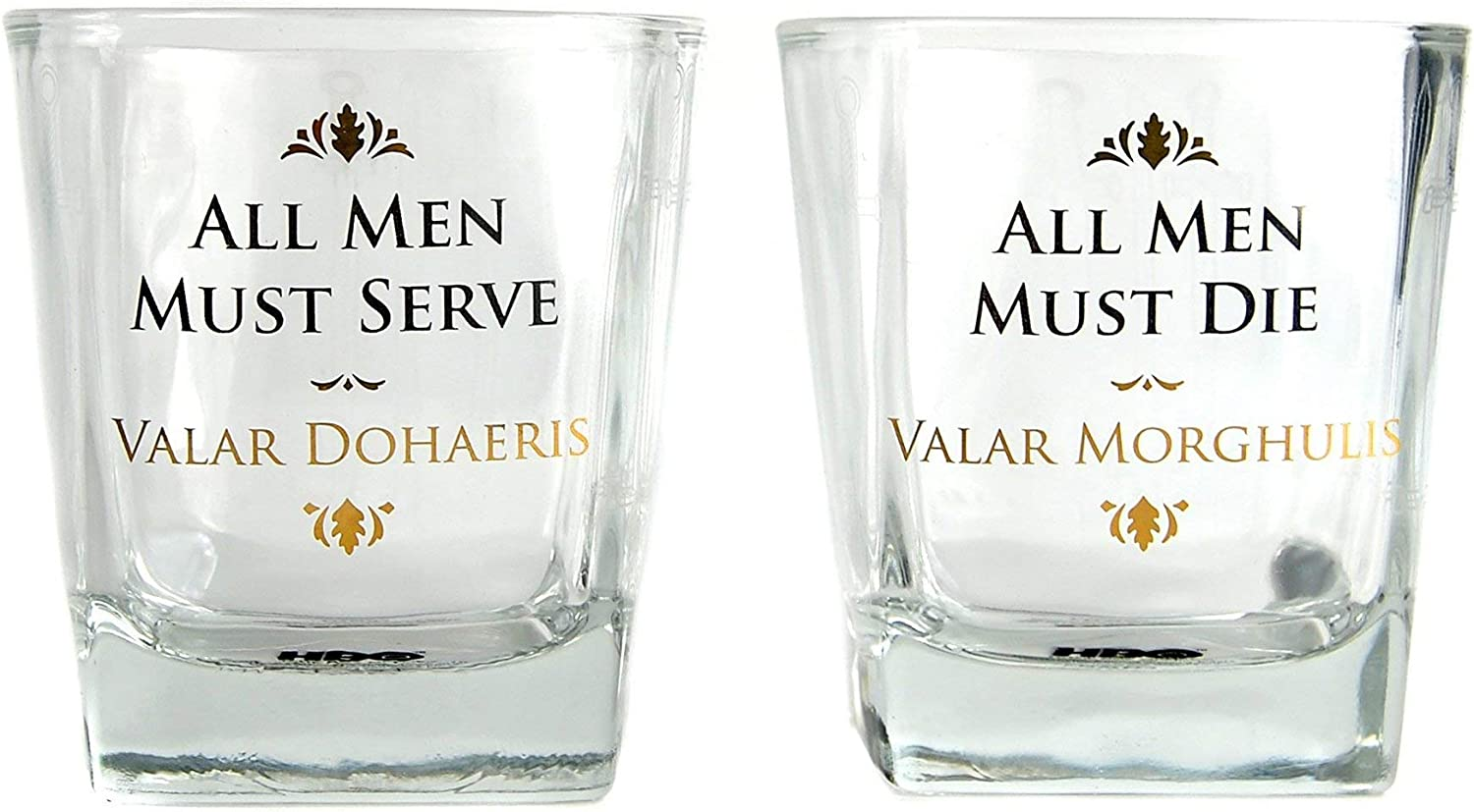 Amazon Com Glass Tumbler Boxed 250ml Set Of 2 Game Of Thrones All Tumblers Water Glasses