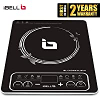 iBELL Slim50 Induction Cooktop 2200 Watt with Auto Shut Off & Over Heat Protection