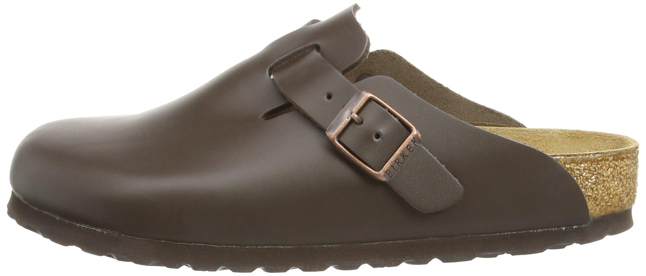 Birkenstock Boston, Unisex Adults' Clogs, Dark Brown Leather,8 UK by Birkenstock (Image #5)
