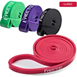 FREETOO Resistance Bands for Pull Up Assist,Workout-82 inches Loop Exercise Band-Single or Set
