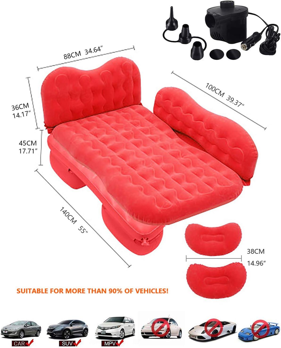 inflatable travel mattress
