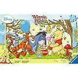 Ravensburger 06018 4 - Puzzle Incorniciato 15 Pezzi - Winnie The Pooh