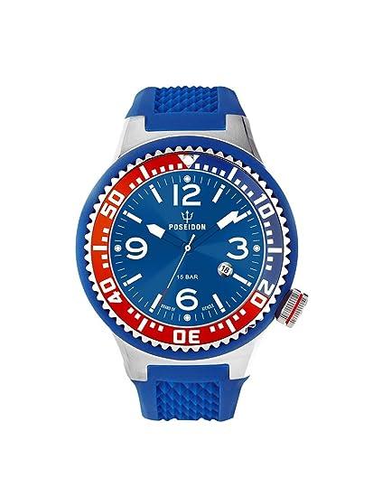 Kienzle K2103017043-00415 - Reloj analógico de cuarzo unisex con correa de silicona, color