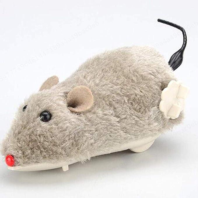 Z Koko Zufällige Farbe Uhrwerk Maus Für Katzen Zum Aufziehen Plüsch Maus Spielzeug Katze Fangen Spielzeug Katze Kätzchen Spielen Und Verfolgen Küche Haushalt