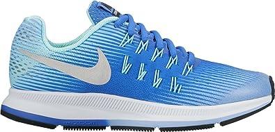 0ede3d2ee5 Nike Kids Zoom Pegasus 33 (GS), Aluminum / Metallic Silver, Youth Size