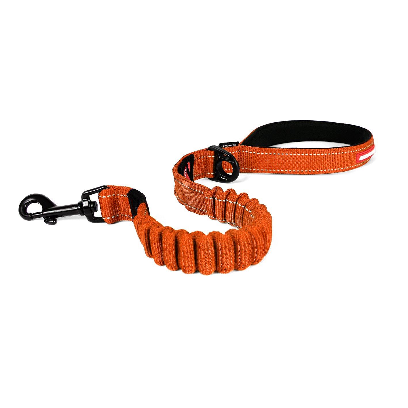 orange 25-Inch orange 25-Inch EzyDog ZERO SHOCK Leash Best Shock Absorbing Dog Leash, Control & Training Lead (25  orange)