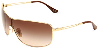 edbc8678e1 Amazon.com  Ray-Ban RB3466 - ARISTA Frame BROWN GRADIENT Lenses 35mm ...