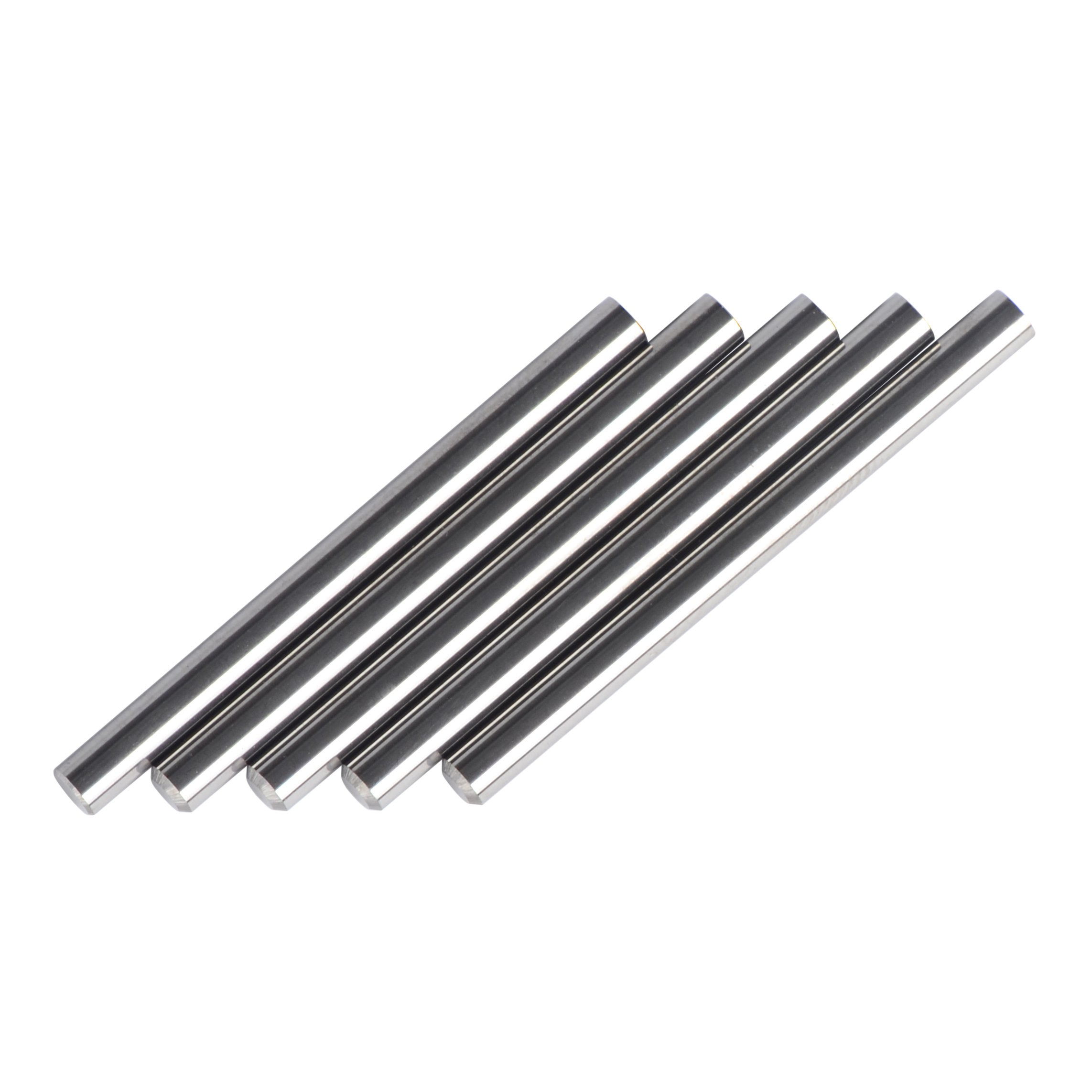 NCC Carbide Rod 1/8 Diameter and 1-1/2 Overall Length YK20 Ground for Routers and Drills, Pack of 5