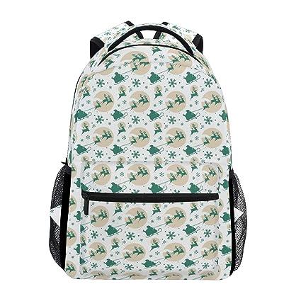 4f2d4ae9cef4 Amazon.com: Backpack Women Men Teen Girl Boy School Bag Purse ...