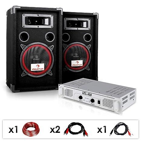 """Equipo DJ PA """"DJ 15"""" Amplificador, ..."""