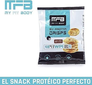 MYFITBODY Snack Proteico - Chips de Proteínas sabor barbacoa ...